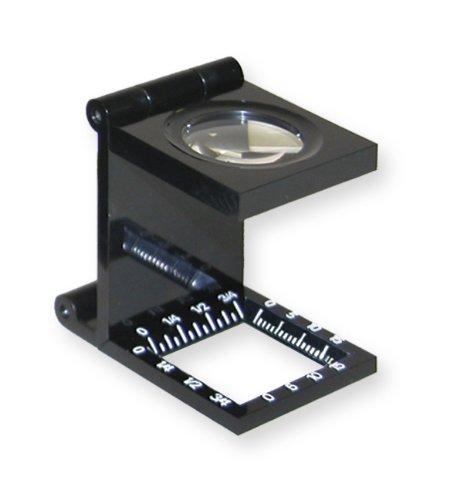 Carson LinenTest 6.5x20mm Folding Magnifier (LT-20) (Linen Loupe)