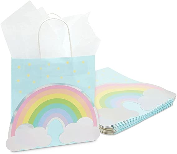 all different Gift paper bags set of 15