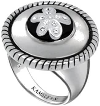 New Authentic Kameleon Scroll Ring - KR003 Size (7)