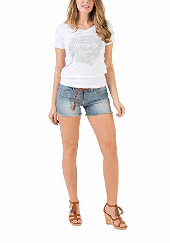 Azul Para Timezone Mujer Slim light Sky 3152 Wash Textil Emielytz Bañador 6TnwYxqAI