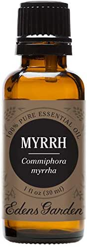 Edens Garden Myrrh Essential Oil, 100% Pure Therapeutic Grade (Highest Quality Aromatherapy Oils- Inflammation & Skin Care), 30 ml