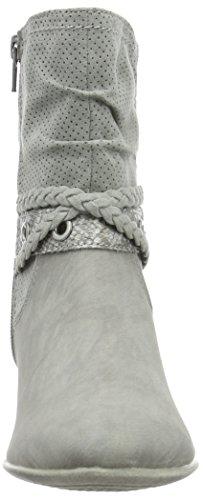 s.Oliver 25314, Bottes Classiques Femme Gris (Lt Grey 210)