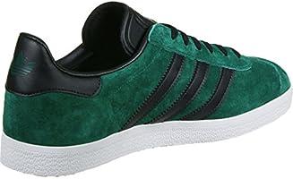 Enriquecimiento ponerse nervioso Ventilación  adidas Gazelle Men's Trainers, Green/Black, 13 UK - 48.2/3 EU ...