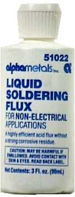 Alpha Fry Soldering Flux Non-Electrical 3 Oz