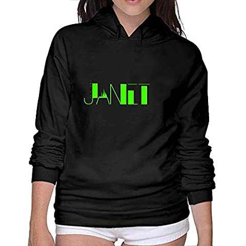 Janet Jackson 2 Hooded Sweatshirt O Neck Woman Best Hoodie M (Would You Mind Janet Jackson)