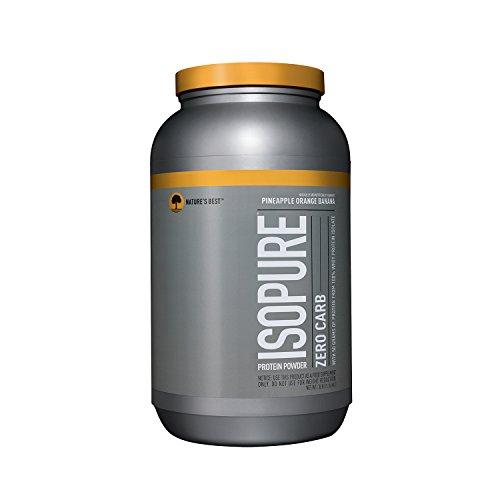 Isopure Zero Carb Protein Powder, Pineapple Orange Banana, 3 Pounds (Orange Pineapple Banana)