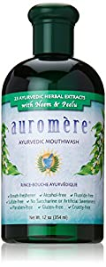 Auromere Mouthwash Ayurvedic, 12 Fluid Ounce