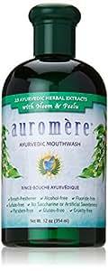 Auromere Mouthwash Ayurvedic, 12 Fluid Ounce