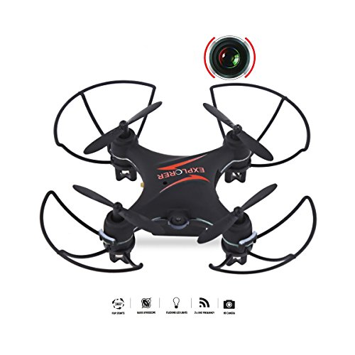 Price comparison product image SYSAMA GW009C 4CH Drone With Camera Quadcopter Dron RC Helicopter Drones With Camera HD Quadrocopter Mini Drone VS CX-10