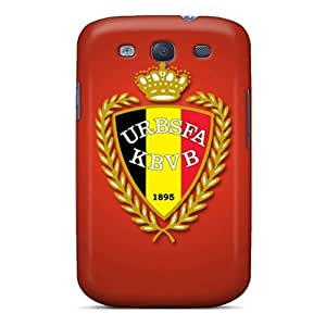 New Arrival Galaxy S3 Case Belgium Football Logo Case Cover