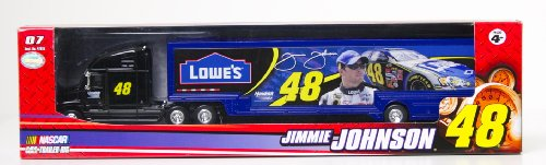 NASCAR, #48 Jimmie Johnson, Lowe's, 1:64 Scale Trailer Rig
