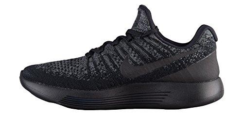 Chaussure De Course À Pied Nike Womens Lunarepic Low Flyknit 2 (9, Noir / Gris Foncé / Bleu Marine / Noir)