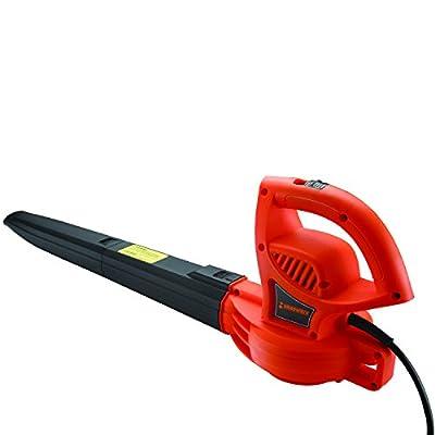 Händewerk Electric Variable Speed Corded Leaf Blower with 210 MPH Air Speed 7 amp Motor