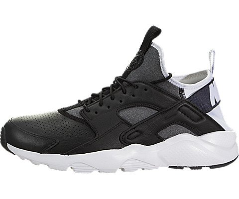3329e4e740dd Galleon - Nike Mens Huarache Ultra SE Running Shoes Black Black White 875841-004  Size 13
