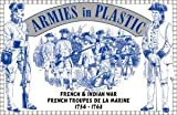 French & Indian War 1754-1763 French Troupes De La Marine (16) 1/32 Armies in Plastic