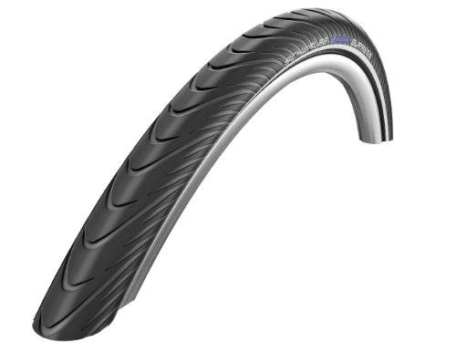 Schwalbe Marathon Supreme HS 382 HD SpeedGuard Cross/Hybrid Bicycle Tire - Folding (Black/Reflex - 20 x 1.6)