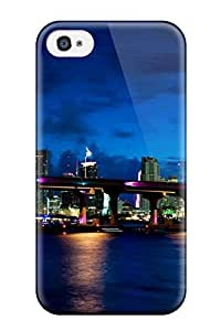 Case Cover Miami City / Fashionable Case For Iphone 4/4s