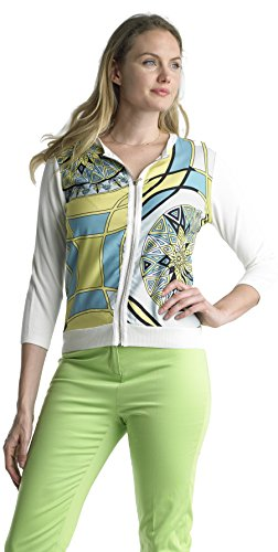 Zip Front Cropped Jacket - 4