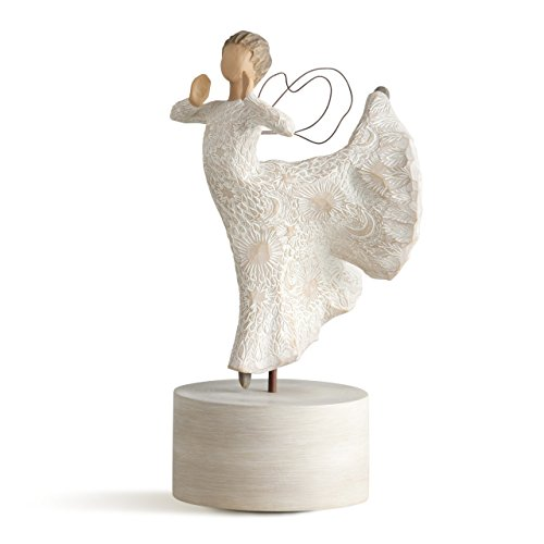 Willow Tree Song of Joy Musical, sculpted hand-painted musical figure