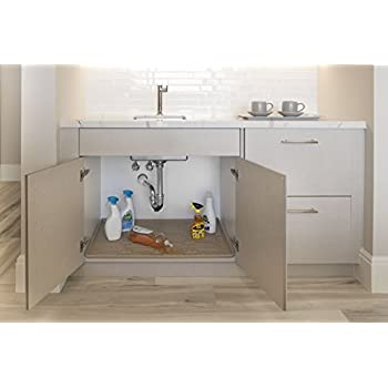 Amazon Com Xtreme Mats Under Sink Kitchen Cabinet Mat 33