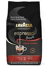Lavazza Espresso Barista Gran Crema Whole Bean Coffee Blend, Medium Espresso Roast, 35.2 Oz Bag (Packaging May Vary)