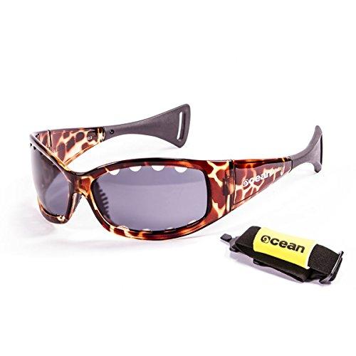 Ocean Fuerteventura Polarized Ventilated Sunglasses (Tortise Brown, - Glasses Tortise