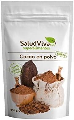 Cacao en polvo ECO 250 g, Salud Viva