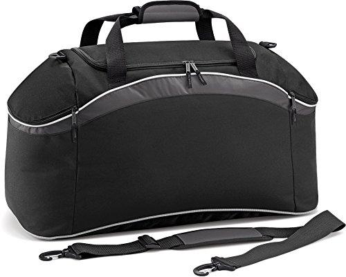 One Grey Size Teamwear Black White BagBase Graphite Holdall 6qTYxnE