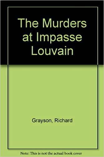 Book The Murders at Impasse Louvain by Richard Grayson (1982-08-01)