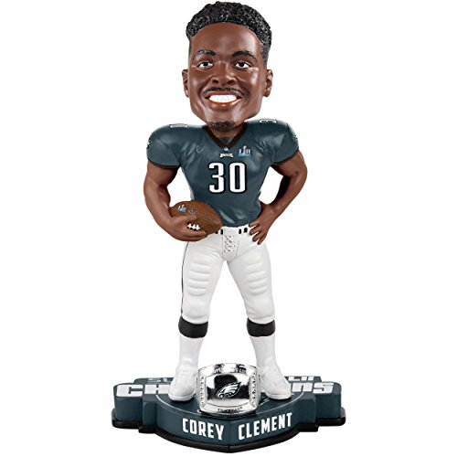 FOCO Philadelphia Eagles Bobble Corey Clement #30 Super Bowl 52 Champs