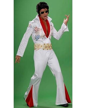 Rubies Costume Co R56238-M Grand Heritage adultos Elvis Disfraz ...
