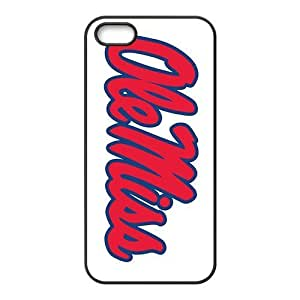 NCAA Mississippi Rebels Primary 1996 Black For SamSung Galaxy S6 Phone Case Cover