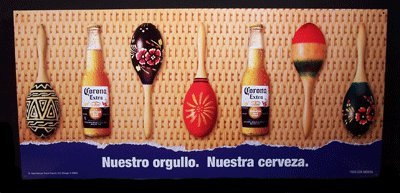 corona-extra-bottles-and-maracas-metal-beer-tacker-sign