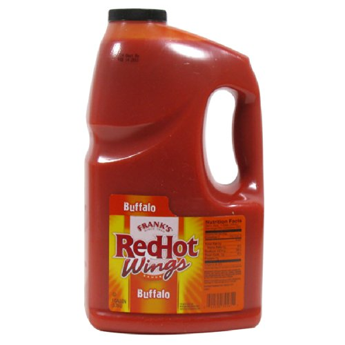 Frank's Red Hot Buffalo Wing Sauce 4/1 Gallon Jugs