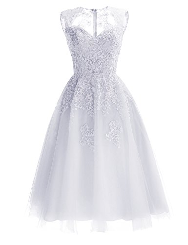 Robe Femme Princesse Hepburn Mariage Tulle Multicouche Jupe Empire Timormode Audrey Soire Blanc Broderie Sexy Robe de Taille Perles Swnp8z4q0