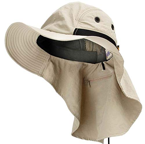 Adam's Headwear Extreme Condition Hat UPF 45+ Khaki