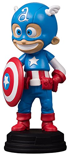 Gentle Giant Captain America Animated Marvel Statue, Full Color, 8 x 2 x 2.5""