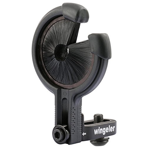 Wingeler Arrow Rest for Compound Bow Hunting.left and Right Hand -Black. (Compound Bow Silence)