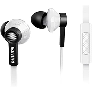 Philips TX1WT/00 In Ear Headphone with Microphone