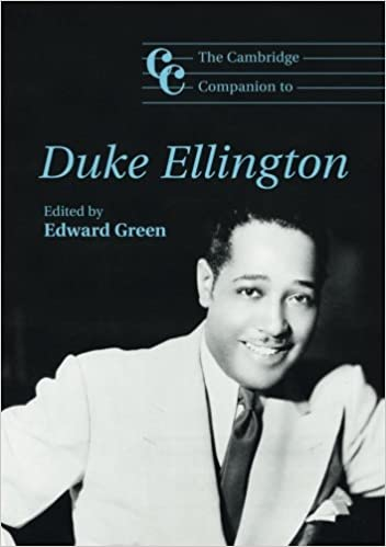 the cambridge companion to duke ellington cambridge companions to  the cambridge companion to duke ellington cambridge companions to music edward green 9780521707534 com books