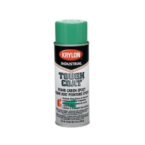 Krylon K01732000 Rebar Green Tough Coat Epoxy, 12 fl. oz. Aerosol Can (Pack of 12)