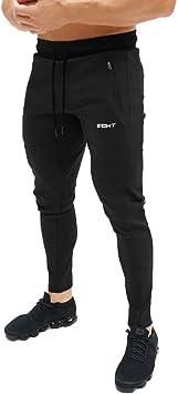Feidaeu Pantalones de Entrenamiento de Gimnasia para Hombre ...