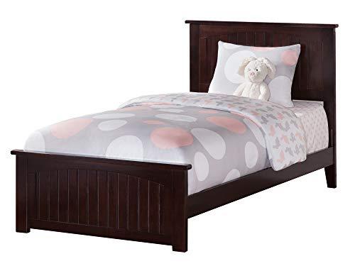Atlantic Furniture AR8216031 Nantucket Traditional Bed, Twin XL, Espresso ()