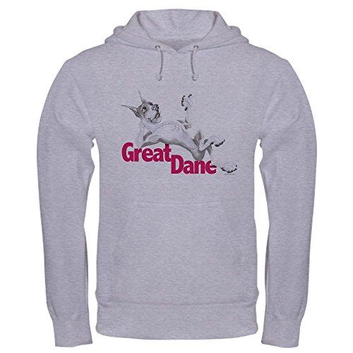 - CafePress Great Dane Mantle LB Pullover Hoodie, Classic & Comfortable Hooded Sweatshirt Heather Grey