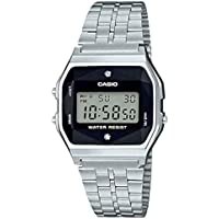 Relógio Feminino Casio Vintage Diamond A159WAD-1DF - Prata