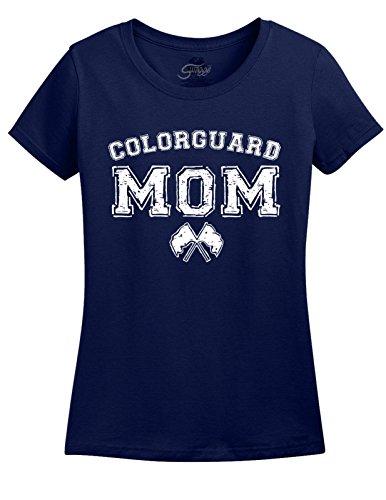 Ladies Color Guard Mom T-shirt