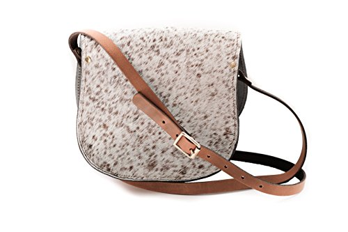 Chair With Buckle Cowhide Strap Crossbody Cow n Adjustable And Impression Dappled Closure Leather Real Bag vWa4Uqzz
