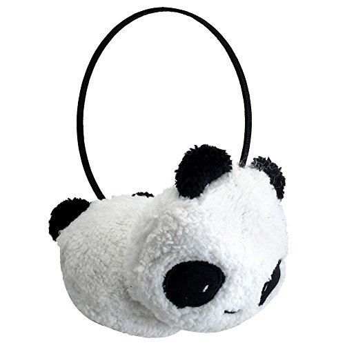 Winter Cute Panda Earmuff Ear Muff Warmer-White - 3