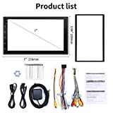 WZTO Double Din Car Stereo with GPS Navigation,7