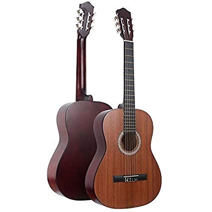 "THE DIEDERIK 24"" 6 String Decor Guitar Children's Musical Instrument Toy Guitar for Beginners Kids Childs (Color May Vary)"